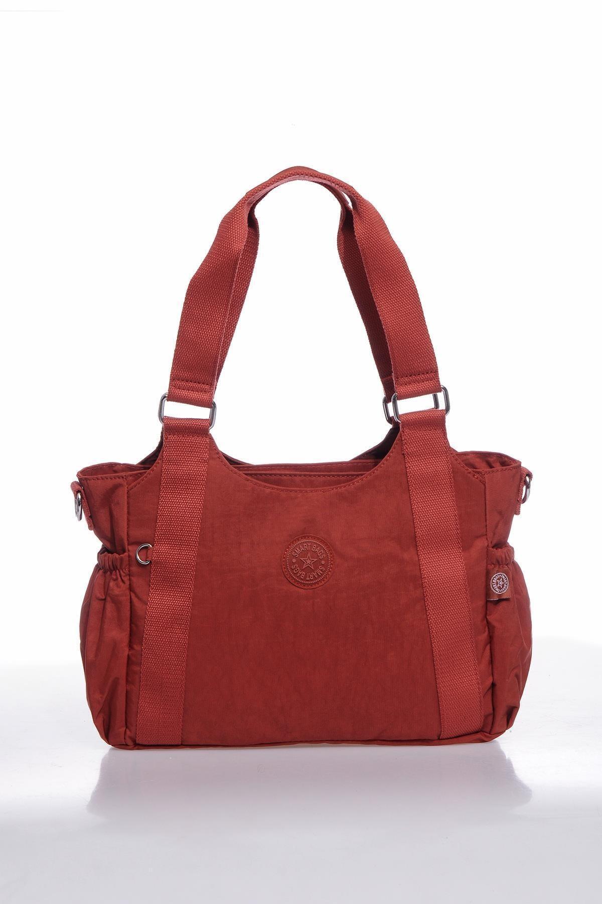 SMART BAGS Kadın Kiremit Omuz Çantası Smbk1163-0128 1