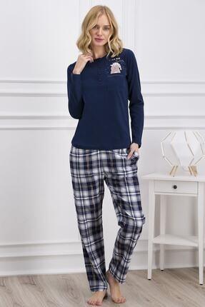 Pierre Cardin Kadın Lacivert Pijama Takımı