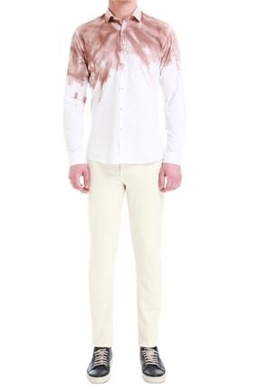 Efor Erkek Taş Renk Slim Fit Jean Pantolon 037