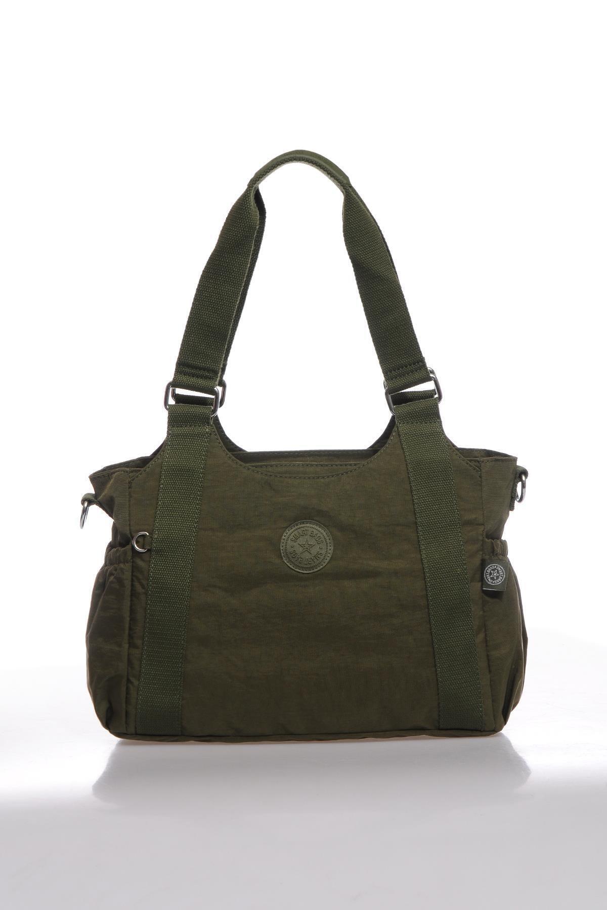 SMART BAGS Kadın Koyu Yeşil Omuz Çantası Smbk1163-0029 1
