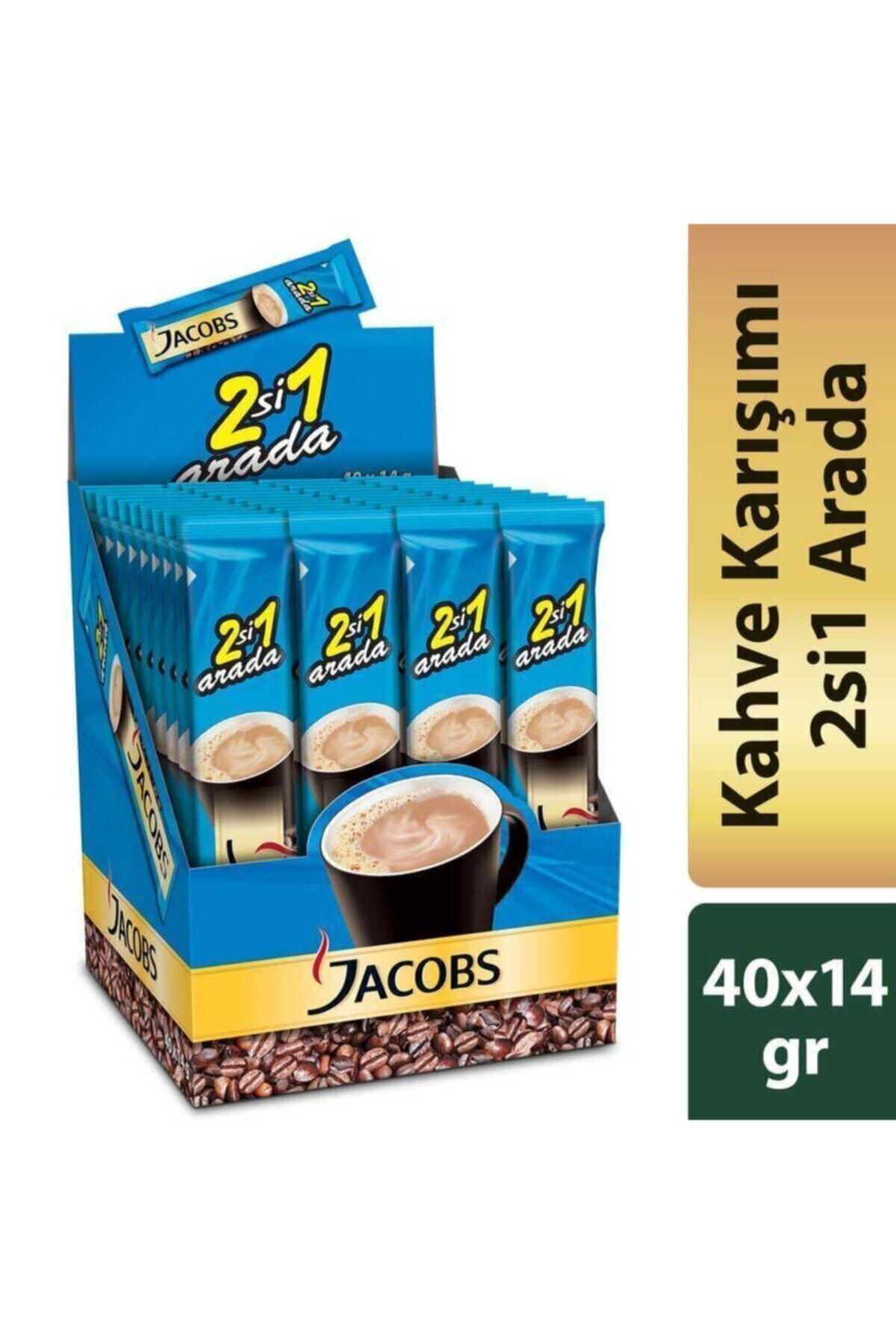 Jacobs 2si1 Arada Kahve 40lı Paket 1