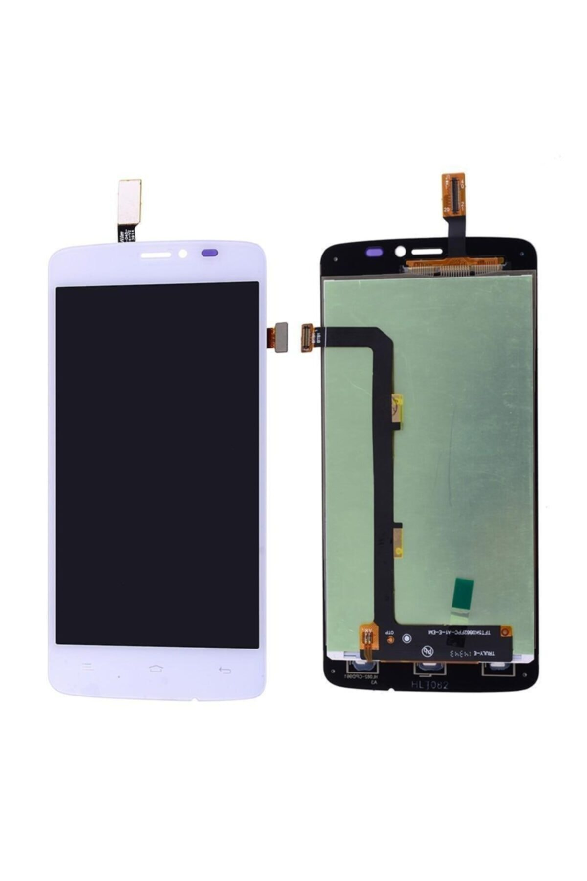 General Mobile Discovery 2 Mini Lcd Ekran Dokunmatik Beyaz Çıtasız 1