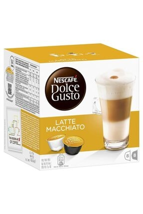 Nescafe Dolce Gusto Latte Macchiato 16 Kapsül Kahve