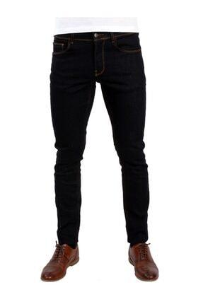 Dufy Koyu Lacivert Erkek Kot Pantolon - Slım Fıt Jeans