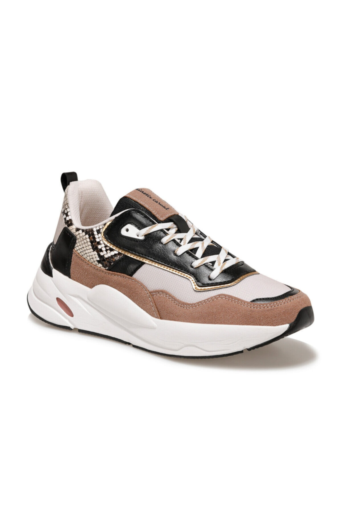 Kinetix BURGES Gül Kurusu Kadın Fashion Sneaker 100540699 1
