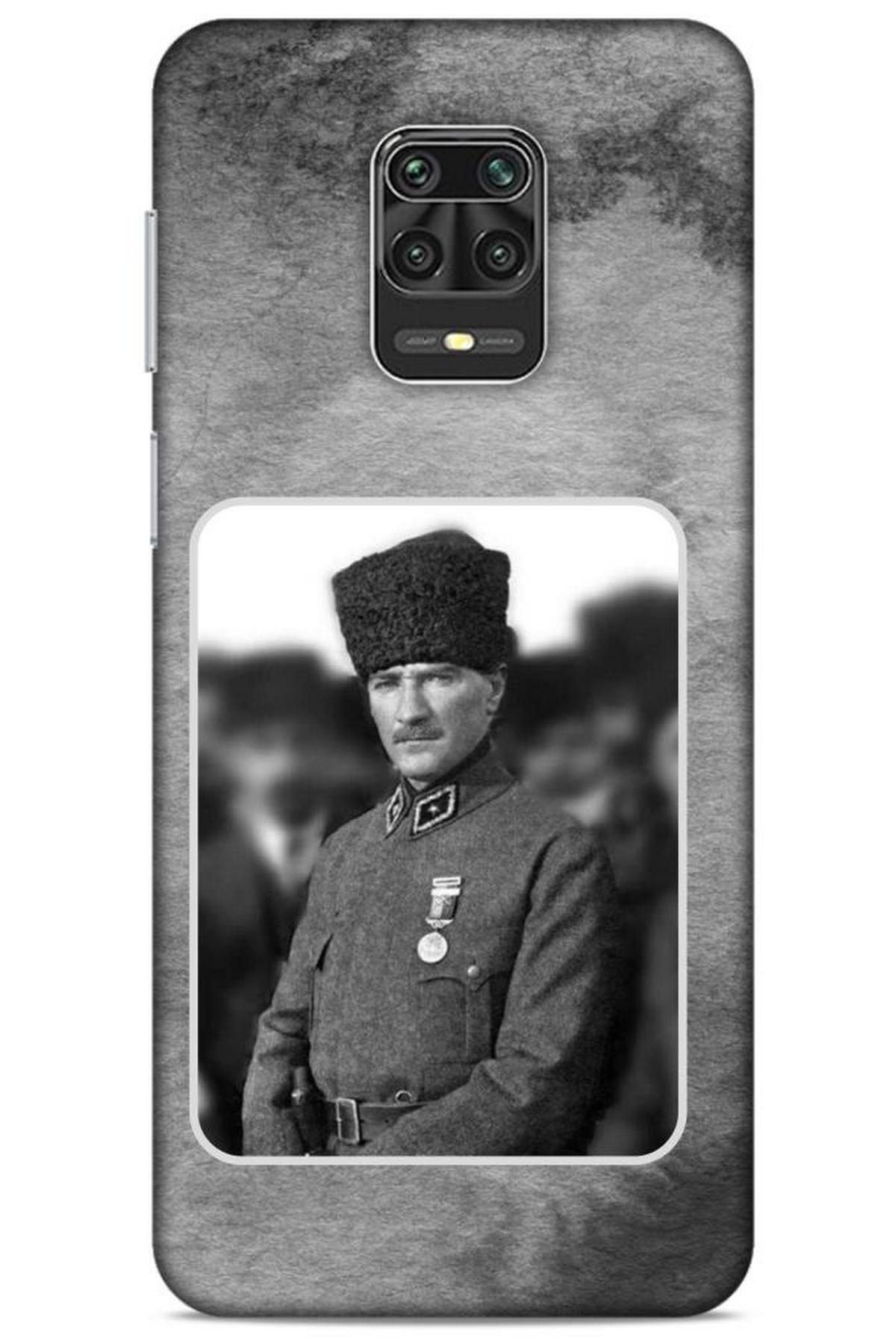 Lopard Xiaomi Redmi Note 9s Uyumlu Atatürk  Neo Hybrid Kılıf 1