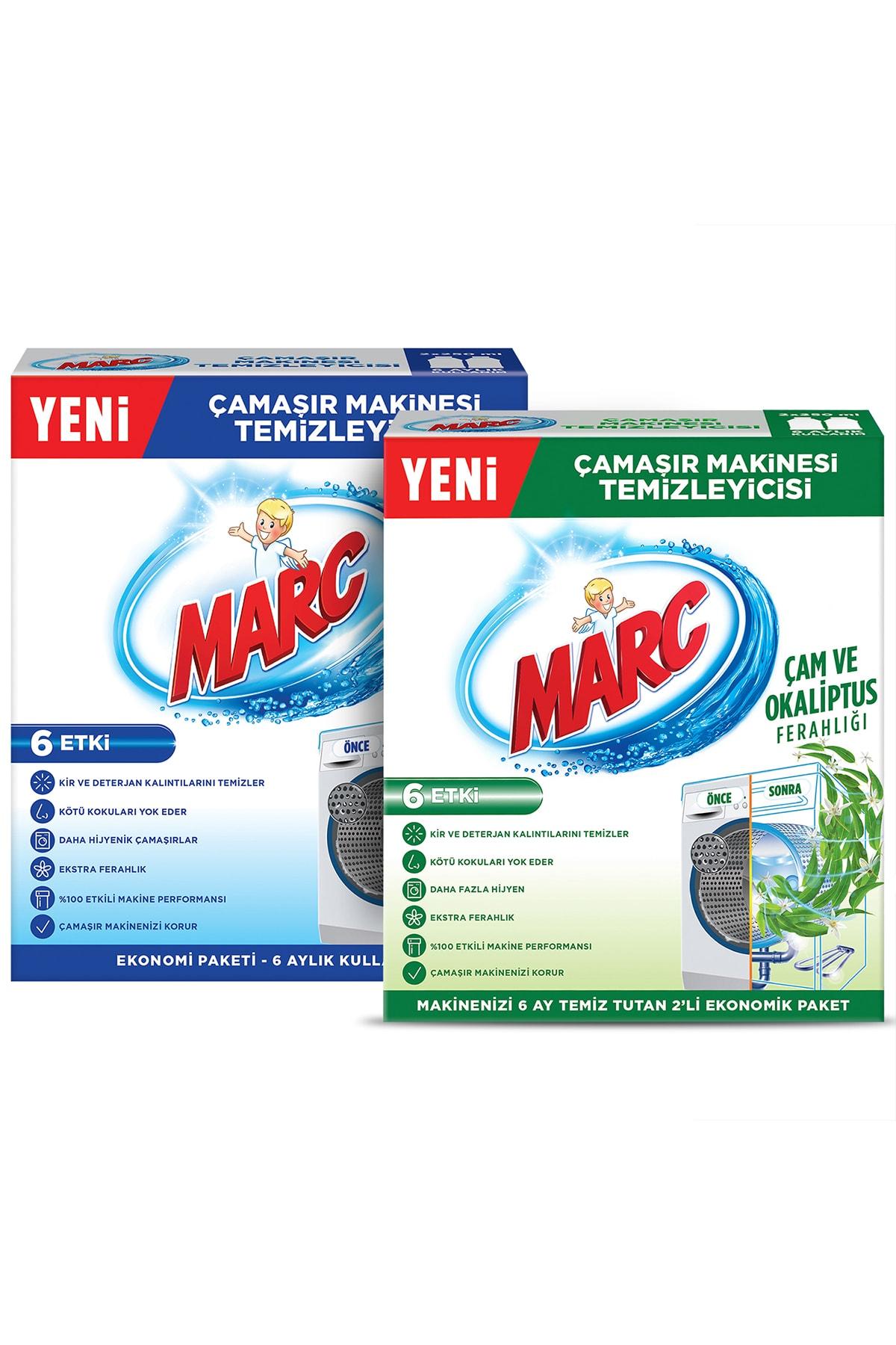 Marc Çamaşır Makinesi Temizleyici Regular + Çam ve Okaliptus Ferahlığı 2