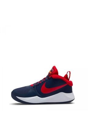 Nike Team Hustle D 9 Unisex Mavi Basketbol Ayakkabısı