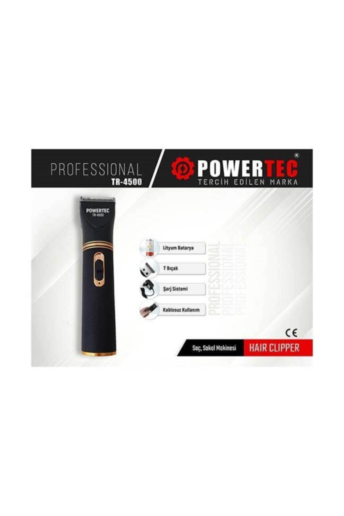 Powertec Tr-4500 Profesyonel Saç Sakal Makinesi Fiyatı, Yorumları - TRENDYOL