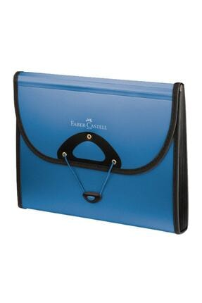 Faber Castell Faber-castell Körüklü Dosya Metalik Mavi A13