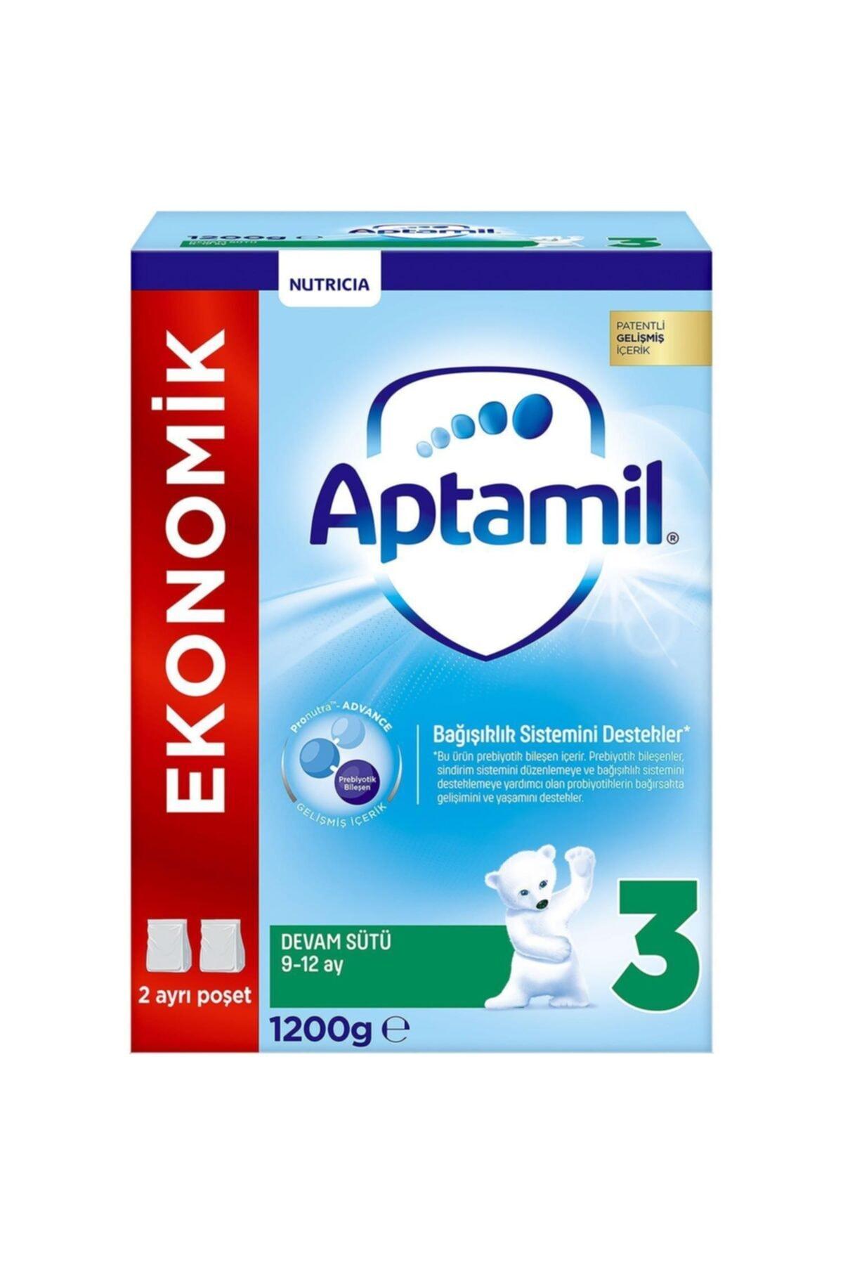 Aptamil 3 Bebek Devam Sütü 9-12 Ay 1200 gr 1