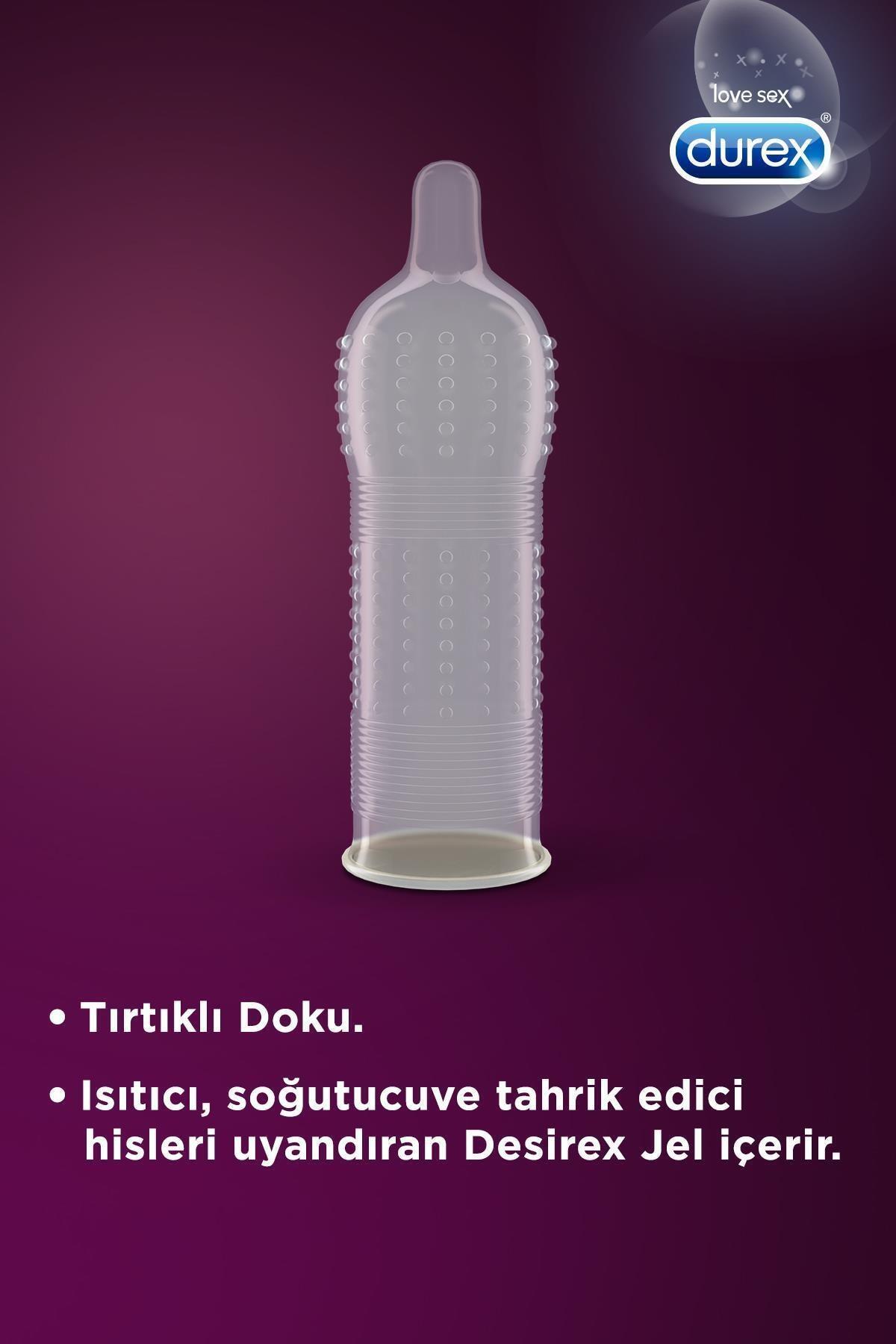 Durex Intense Prezervatif 20' Li+ Delight Bullet Vibratör 2