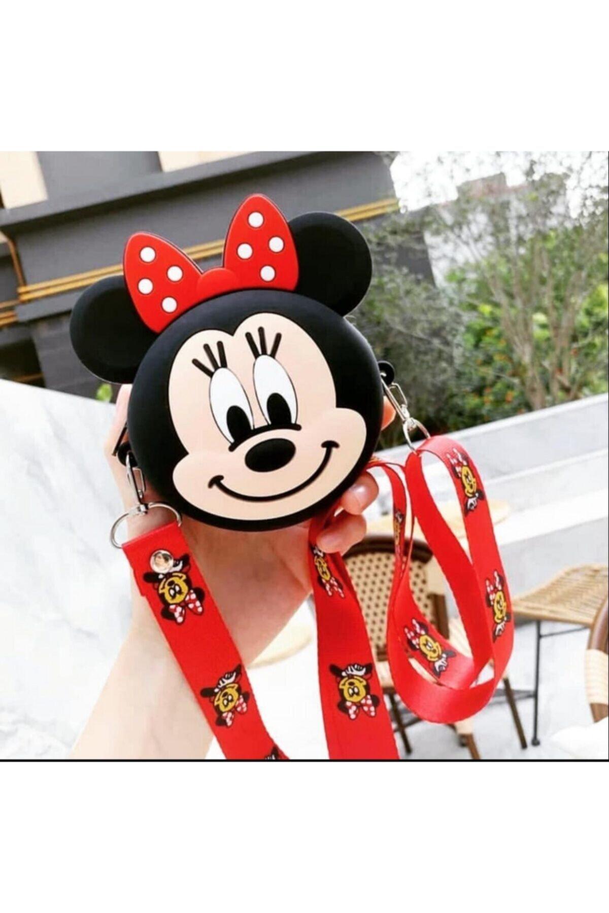 MİSSİNG Kız Çocuk Silikon Mini Mouse Tasarım Omuz Çanta 2