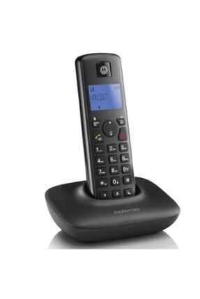 Motorola T401+ Handsfree Dect Telsiz Telefon Siyah