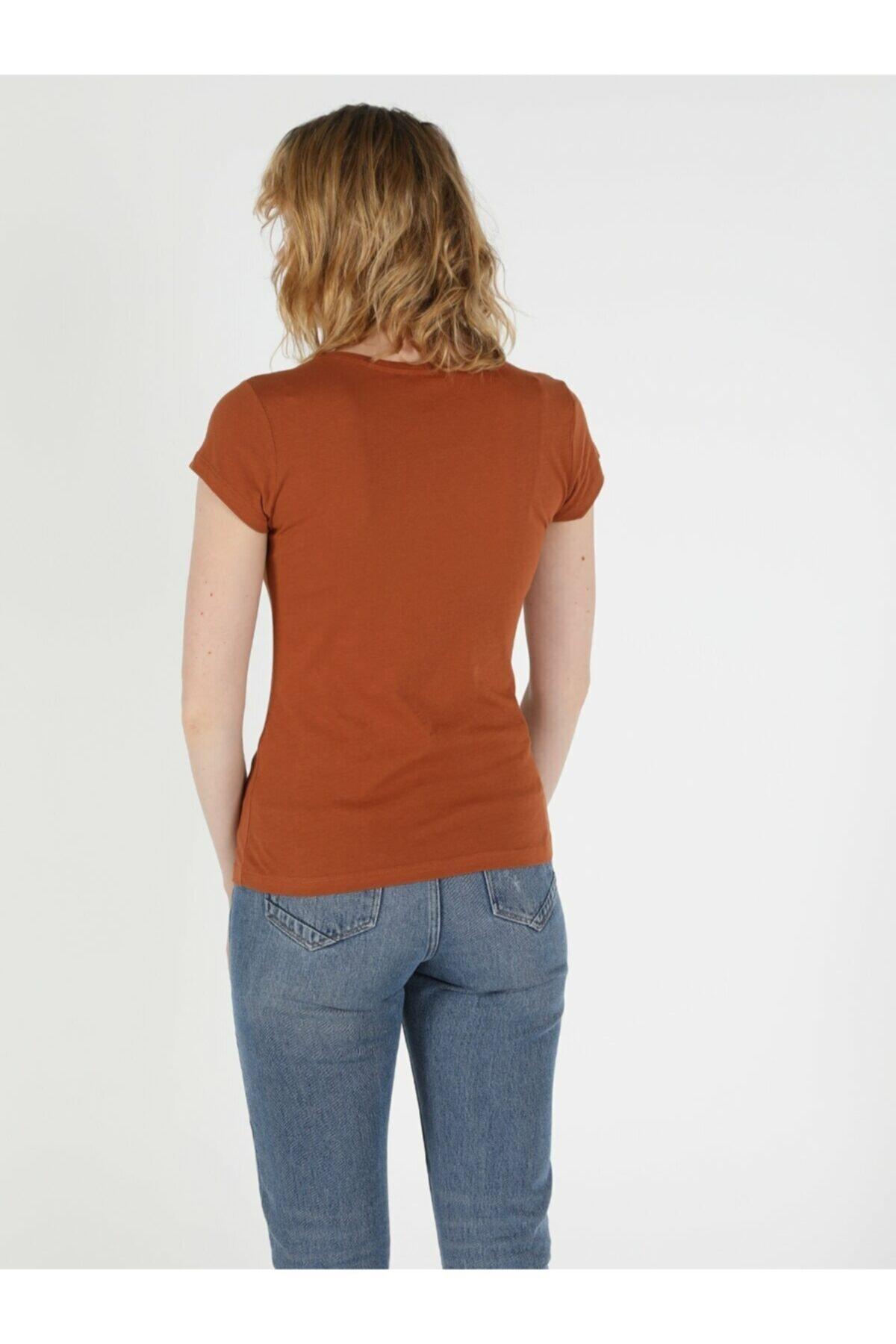 Colin's Kadın  Mavi Kısa Kol Tişört 2