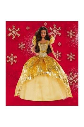 mattel Barbie Bebek Holiday 2020 Mutlu Yıllar Bebeği Orjinal Esmer