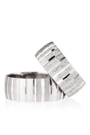 Gümüşcüm Kaadın Gümüş Nişan Yüzüğü Alyans