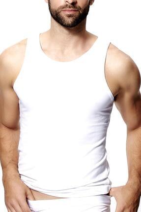 Doremi Erkek Beyaz Penye Atlet