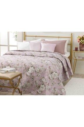 English Home Florence King Size Çok Amaçlı Yatak Örtüsü 220x240 Cm Lila