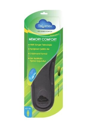 TABANEX Memory Comfort Tabanlık - Erkek