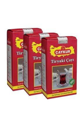Çaykur Tiryaki Çay 1 Kg - 3 Adet