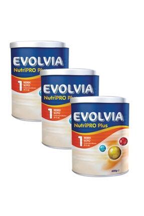 Evolvia 1 Bebek Sütü Nutripro Plus 400 Gr X 3 Adet