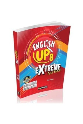 Ydspublishing Yayınları English Up 8 Extreme Test Book