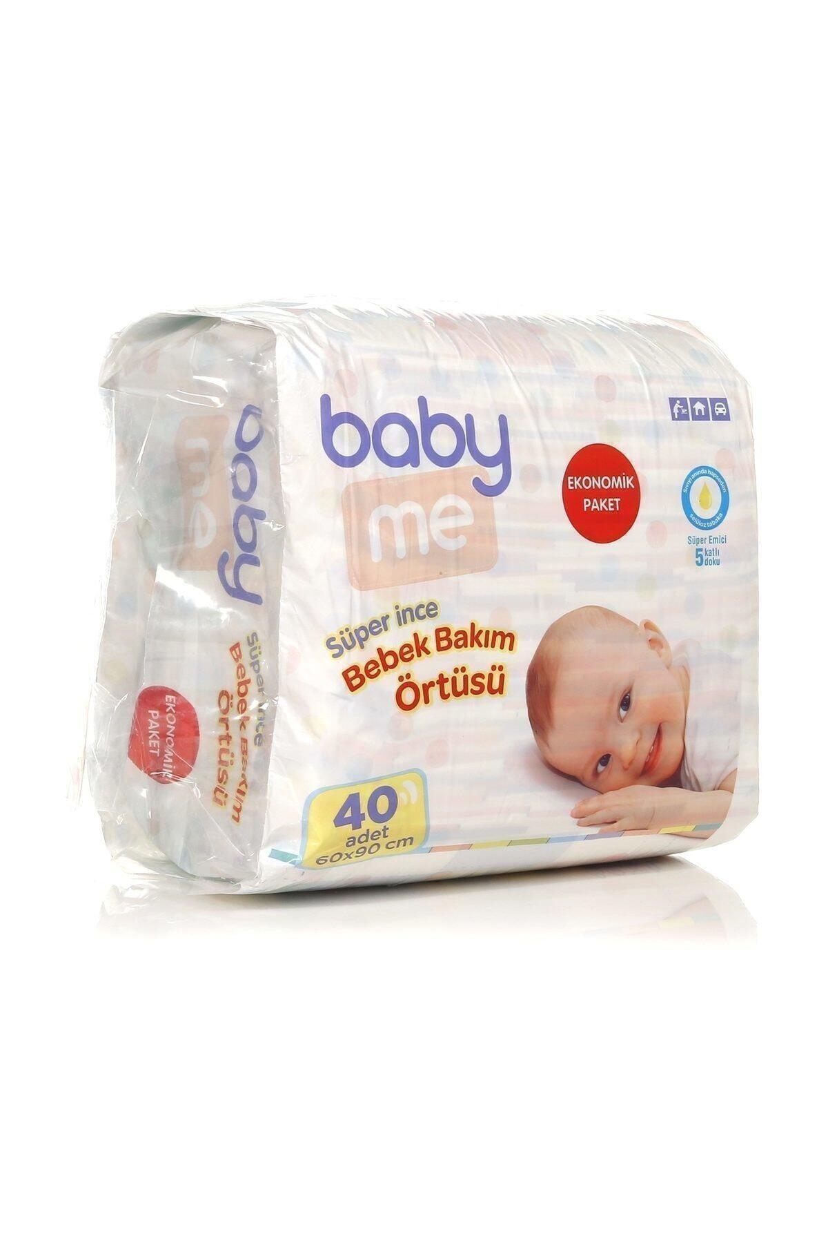 Baby&Me Süper Ince Alt Değiştirme Örtüsü 60 X 90 Cm 40 Adet 1