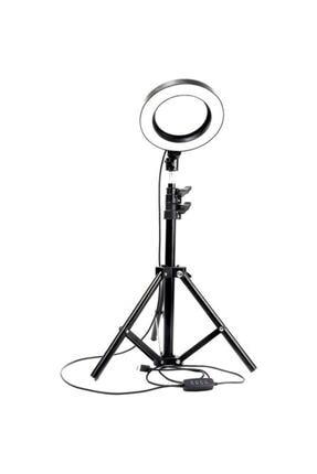 Enshall 10 Inç Ring Light Led Işık Tiktok,güzellik Merkezi Youtube,makyaj, Make Up En Sağlam Stand Tripod