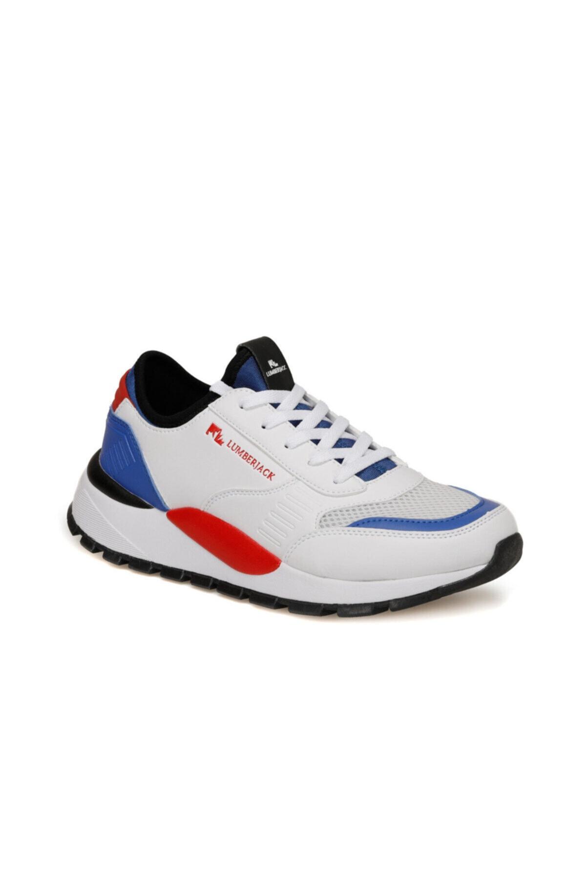 lumberjack MORVAN 9PR Beyaz Erkek Sneaker Ayakkabı 100406600 1