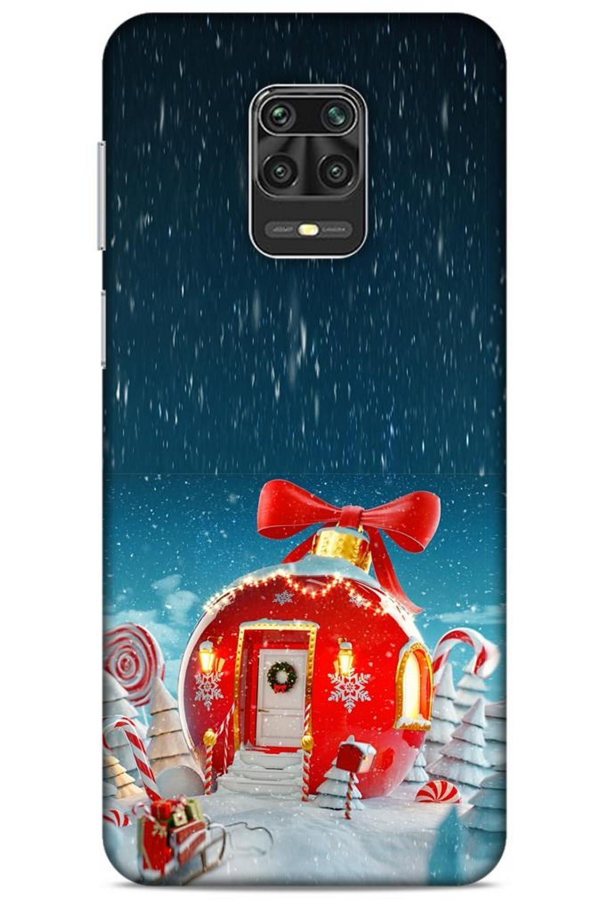 Lopard Xiaomi Redmi Note 9s Kılıf Snowix (9) Kılıf Kırmızı 1