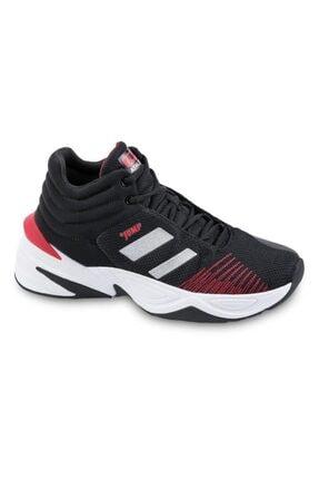 Jump 24774 Garson B-black Whıte Red Spor Ayakkabı