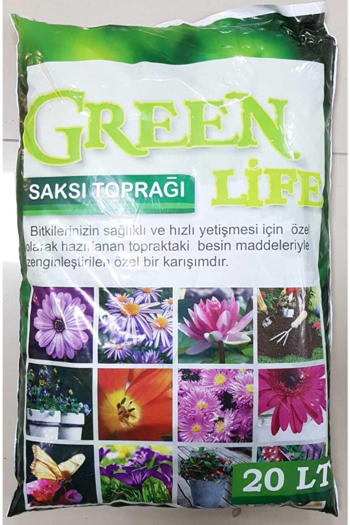 Green Life Humus Katkılı Harika Bitki Toprağı Çiçek Toprağı Torf 20 lt 1