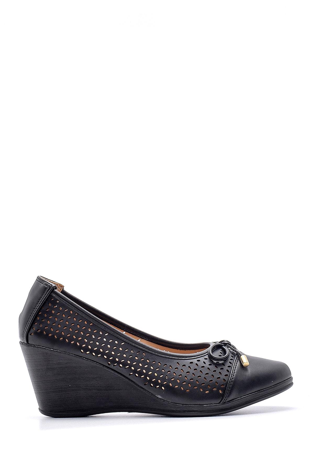 Derimod Kadın Dolgu Topuklu Ayakkabı 1