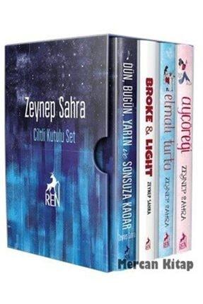Ren Kitap Zeynep Sahra Seti 4 Kitap Takım Ciltli Kutulu Zeynep Sahra