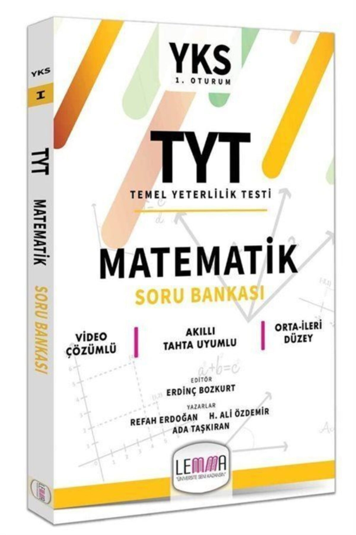 Lemma Yayınları 2020 Tyt Matematik Soru Bankası 1