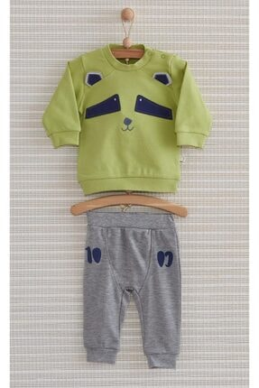 Bebbek Racoon 2'li Erkek Bebek Takım