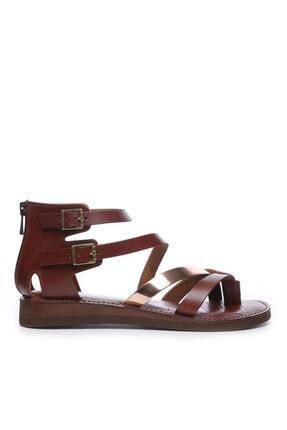 KEMAL TANCA Kadın Derı Sandalet Sandalet 649 131 Bn Snd