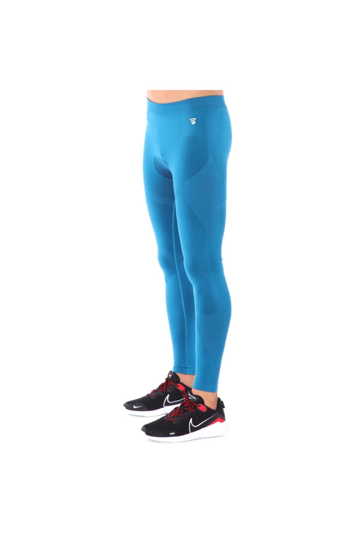 Sportive Seamrunman Erkek Mavi Koşu Tayt 711350-ptr 1