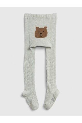 GAP Baby Ayıcık Detaylı Külotlu Çorap