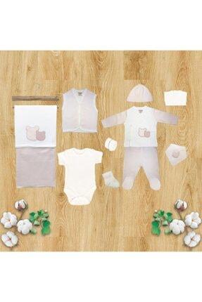 Ciccim Baby 4328 10'lu Ayıcık Zıbın Set