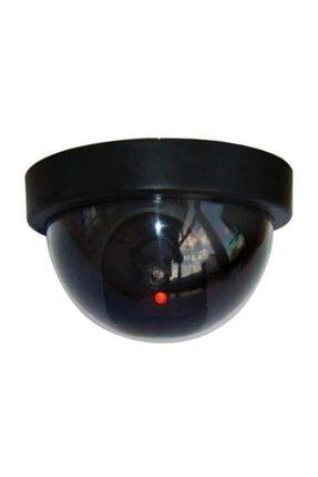 İndiriminVar Caydırıcı Sinyal Işıklı Dome Plastik Güvenlik Kamerası