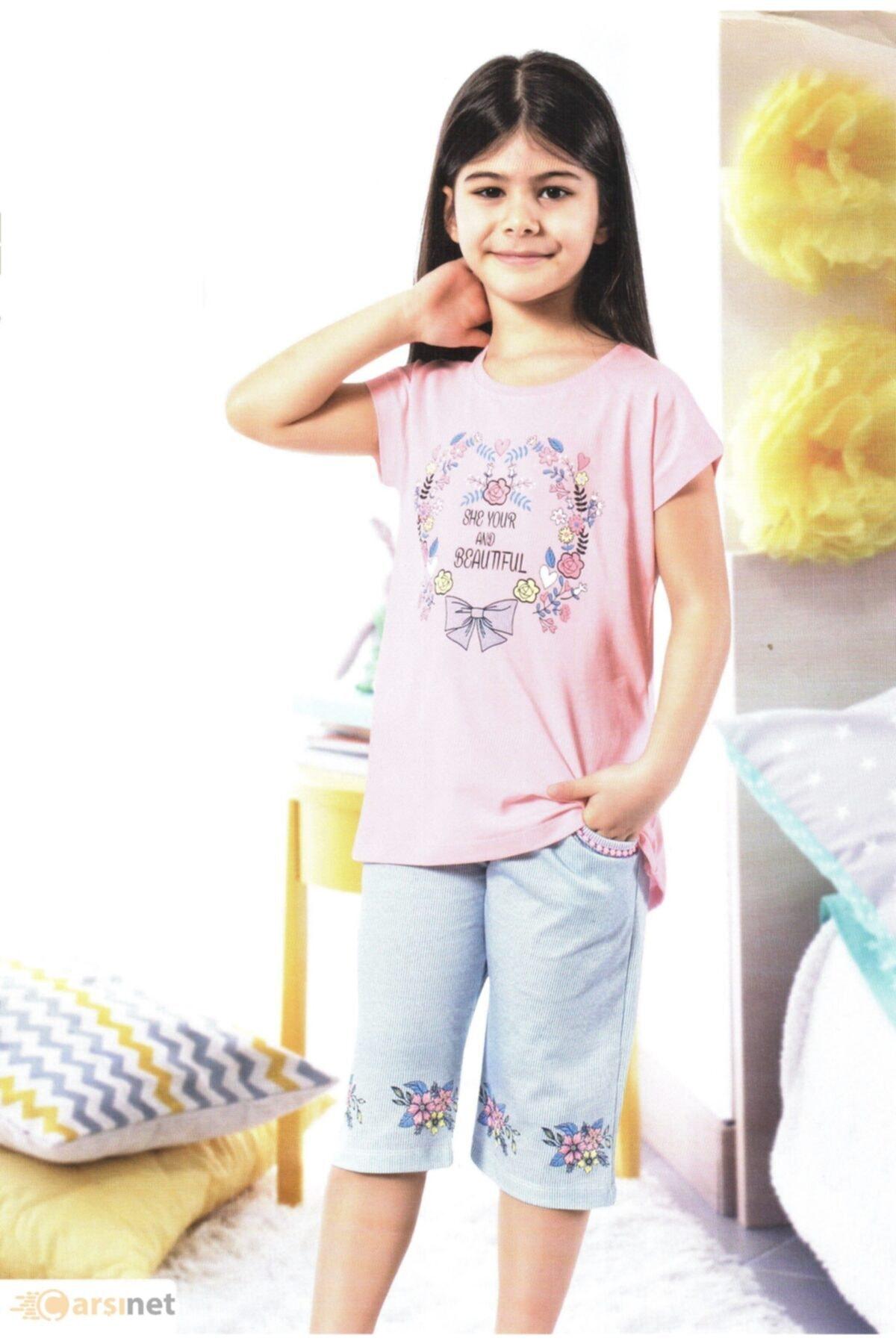 ÖZKAN Kız Çocuk Kapri Takım 1