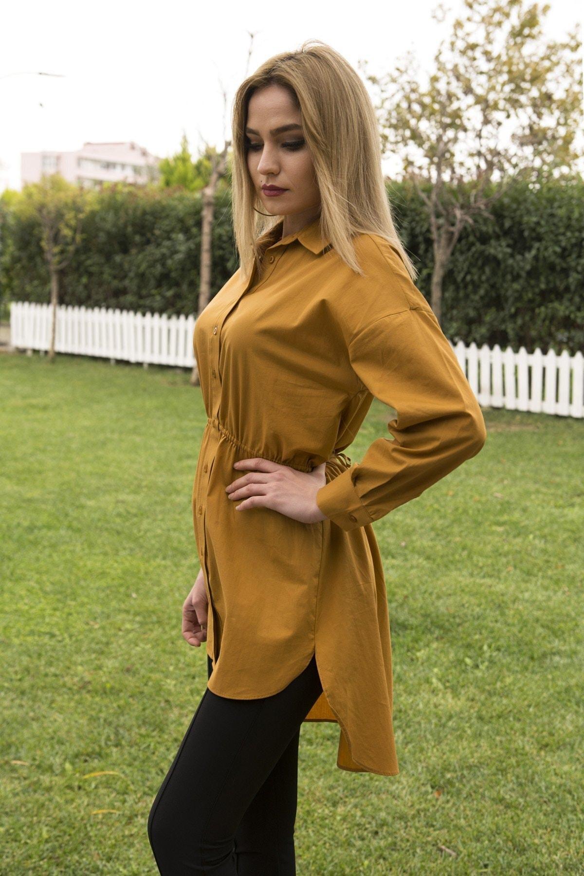 CurcunaShop Gömlek Elbise 2