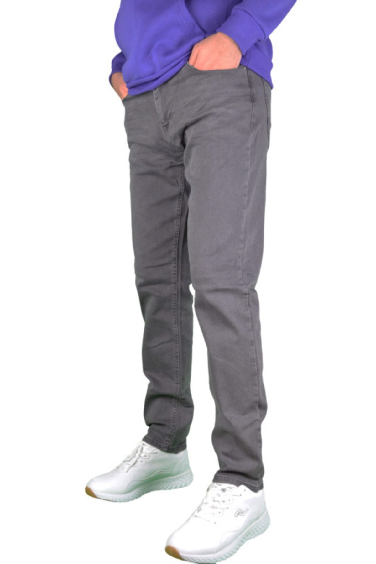 Loft Regular Fit, Füme Erkek Pantolon 2