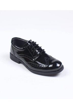 ChatonDor Erkek Çocuk Bağcıklı Rugan Ayakkabı