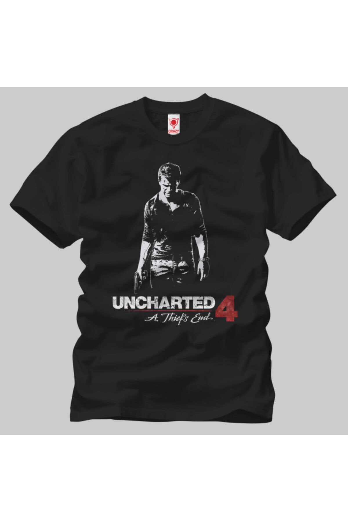Crazy Uncharted 4 Thief Shadow Erkek Tişört 1