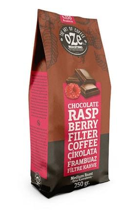 Oze Çikolatalı Ve Frambuaz Aromalı Filtre Kahve 250 gr. (French Press Için Öğütülmüş )