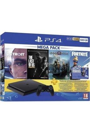 Sony Playstation 4 500 GB Slim Megapack Oyun Konsolu (Eurasia Garantili)
