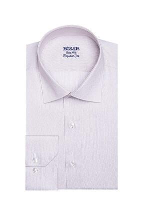 Bisse Regular Fit Çizgili Klasik Gömlek